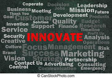 rozmluvy, pojem, inovovat, druhý, příbuzný
