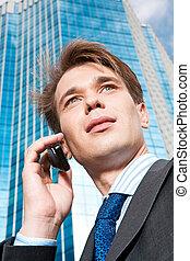 rozmowa telefoniczna, handlowy