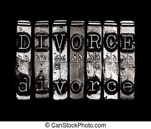 rozvést, pojem