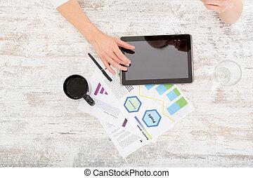 rozvojový, jeden, business plan