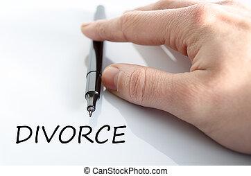 rozwód, pojęcie