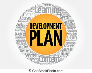 rozwój, koło, plan