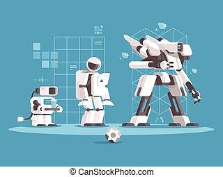 rozwój, robotics