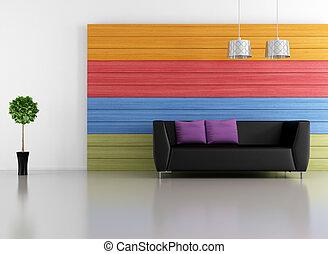 rozwalanie się, minimalista, barwny