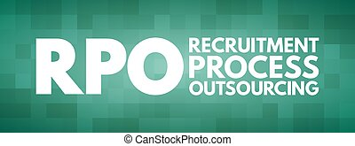 rpo, プロセス, outsourcing, 頭字語, 求人, -