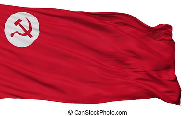 Rsp India Flag Isolated Seamless Loop - Rsp India Flag,...