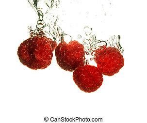 Rspberry splashing
