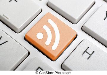 RSS on keyboard