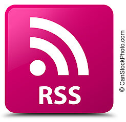 RSS pink square button