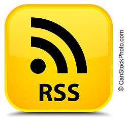 RSS special yellow square button