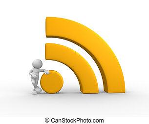 RSS symbol - blog