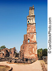 ruínas, augustine