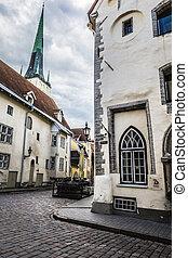 rua, antigas, tallinn, estónia