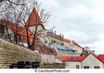 rua, antigas, tallinn