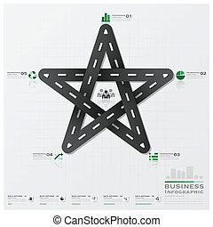 rua, sinal negócio, infographic, tráfego, estrada