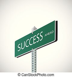 rua, sucesso, sinal