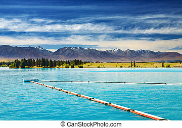 Ruataniwha Lake, New Zealand