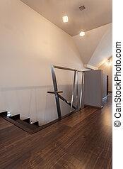 rubí, casa, -, original, escaleras