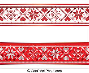 ruban, scandinave