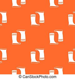 Rubber boots pattern seamless