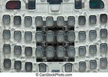 Rubber buttons for digital device