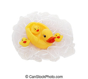 rubber duckie, baby's