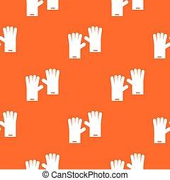 Rubber gloves pattern seamless