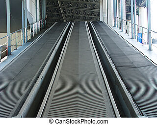 rubber, industriebedrijven, conveyer