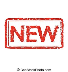 rubber, nieuw, illustratie, postzegel
