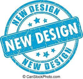 rubber, nieuw, ontwerp, postzegel
