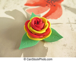 rubber rose