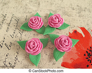 rubber roses