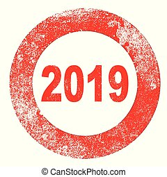 Rubber Stamp 2019