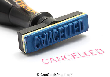 rubber stamp cancel