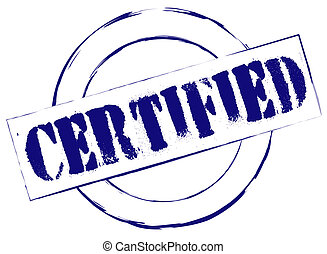 Rubber Stamp Certified