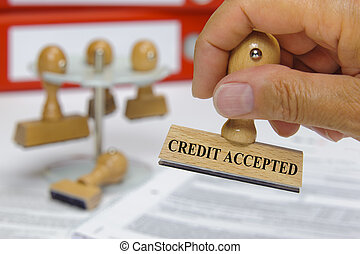 credit accepted