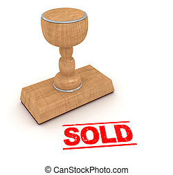 Rubber stamp - sold