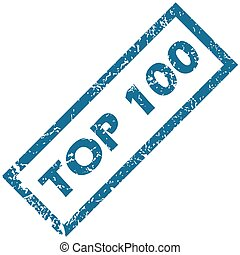 Rubber stamp TOP 100