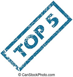 Rubber stamp TOP 5
