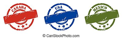 rubber stamps north america
