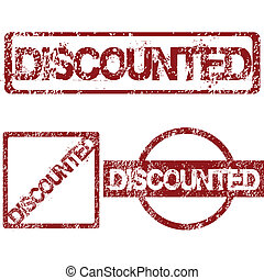 Rubber stamps with Discounted