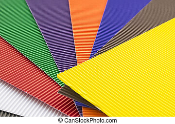 Rubber texture of colorful mats or cellular covers on floor.