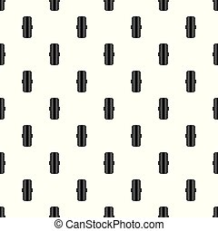 Rubber tyre pattern seamless vector