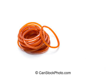 rubberband, wit rood, achtergrond