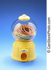 Rubberbands in Bubblegum Machine