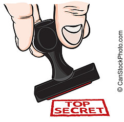 rubberstempel, hoogste geheim