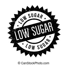 rubberstempel, laag, suiker