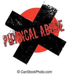 rubberstempel, misbruiken, lichamelijk