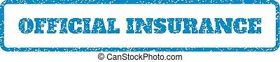 rubberstempel, officieel, verzekering