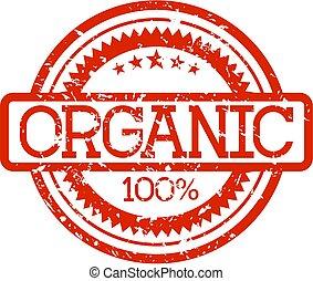 rubberstempel, organisch